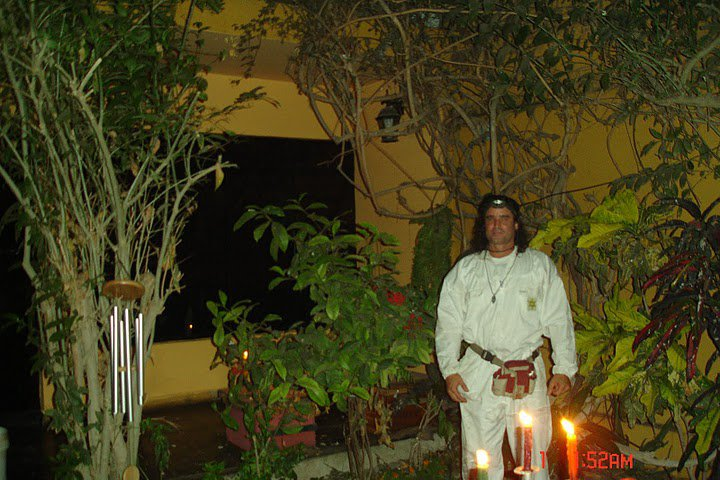 10-marzo-11-12-13...2011 preparando Gran Ritual / pentagrama protector natural casa-jardin-Huacho