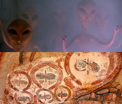 Wandjina dioses extraterrestres aborigenes Australia
