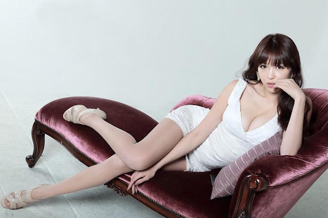 4 Lee Eun Hye in White Mini Dress-Very cute asian girl - girlcute4u.blogspot.com