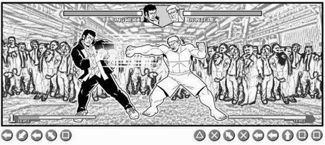 editoriale aurea long wei 3 luca bertelè fumetto fight street fighter