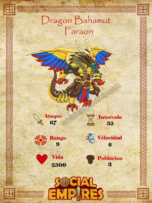 imagen del dragon bahamut faraon y sus caracteristicas