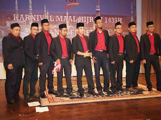 Juara Nasyid Kumpulan Lelaki Pertandingan Nasyid Karnival Maal Hijrah 1435 (Felda Technoplant)