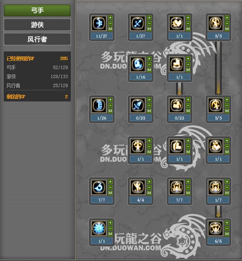 archer skill tree guide poe