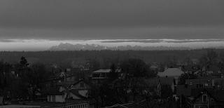 Panorama Tatr z Mielca