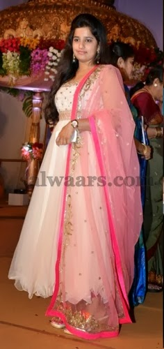 Dil Raju Daughter in Anarkali Salwar