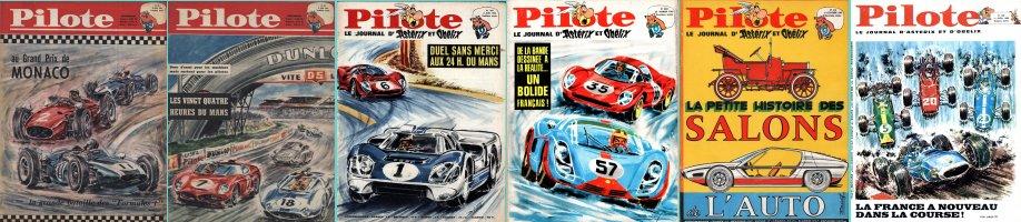Jean-Pierre Boivent dans Pilote (1961-1968) - Compilation de Pierre