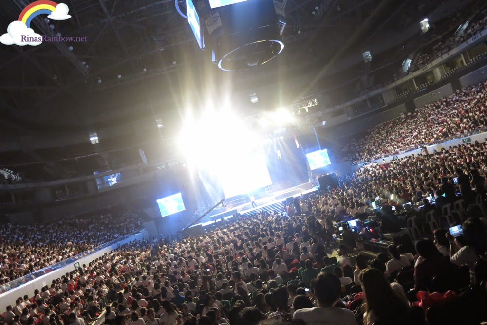 Filled arena