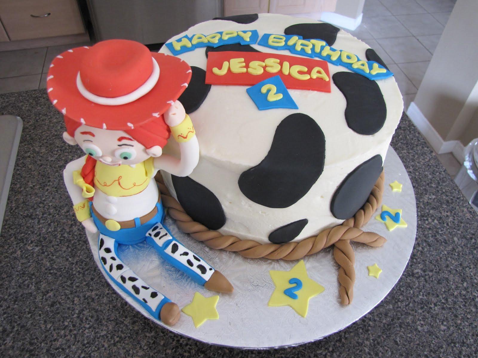 jessie toy story cakes