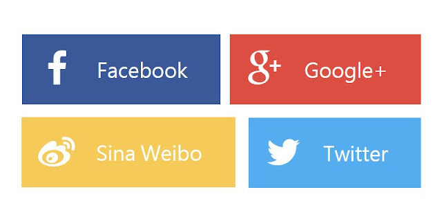 flat-social-share-button-Blogger 自製社群分享按鈕(扁平化設計) + 動畫效果