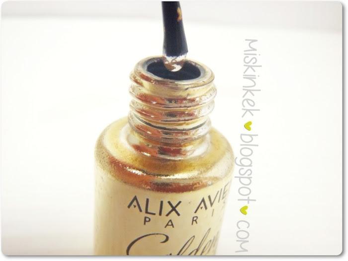 alix avien golden nail altın oje