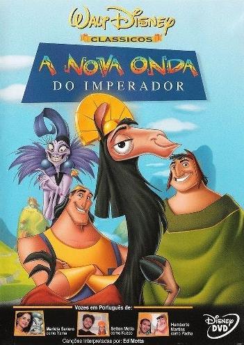 Filme Poster  A Nova Onda do Imperador DVDRip XviD & RMVB Dublado