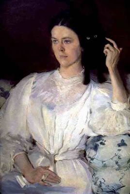 Cecilia Beaux - portrait de Sarah Allibone Leavitt,1893-94.