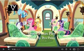 My Little Pony: Friendship is Magic - Games Ponies Play