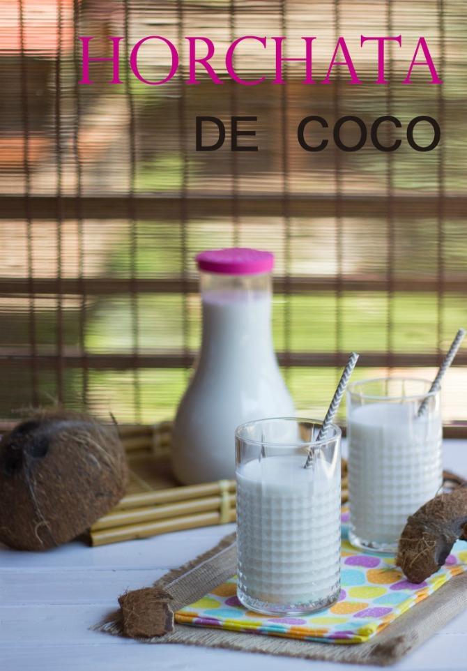 Horchata de coco