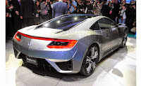 The New Generation of 2016 Acura NSX Facts
