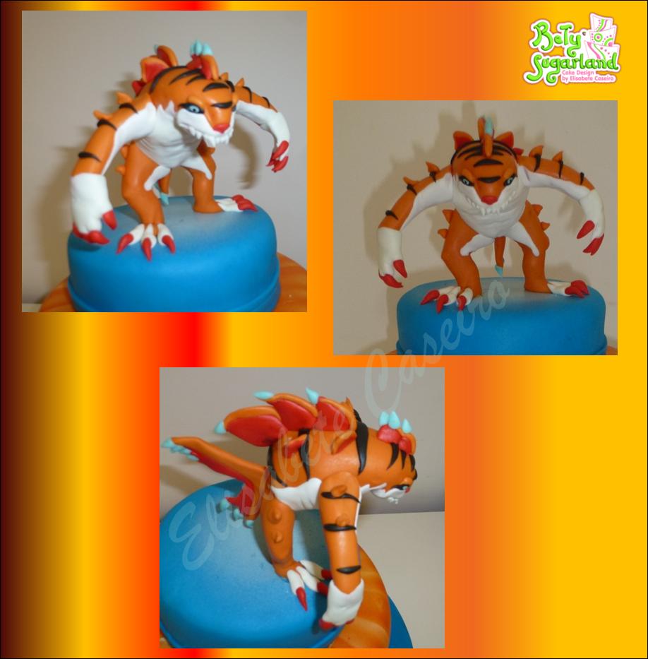 Bety 39 sugarland cake design by elisabete caseiro bolo do tigershark invizimals - Tigershark invizimals ...
