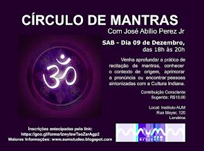 CÍRCULO DE MANTRAS, com José Abílio Peres Jr.