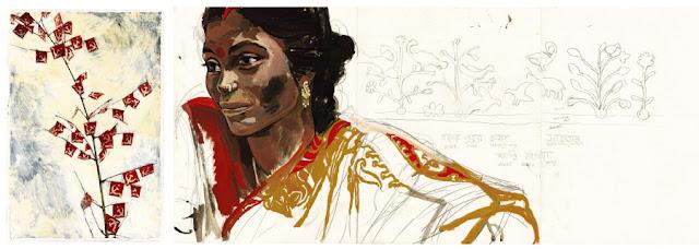Titouan Lamazou - Femmes du Monde - portrait