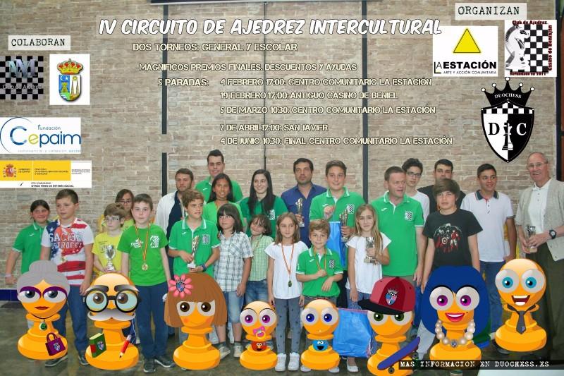 IV Circuito Intercultural de Ajedrez