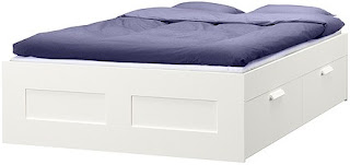 brimnes bed drawers