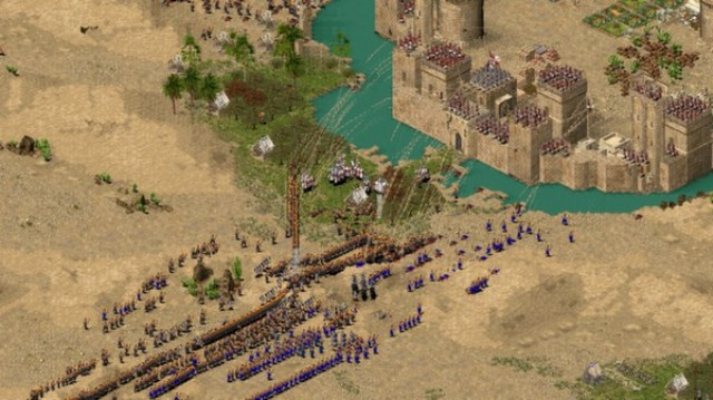 Stronghold Crusader 1 PC Games Gameplay