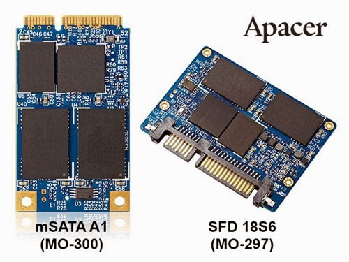 Apacer SFD 18S6 and mSATA A1