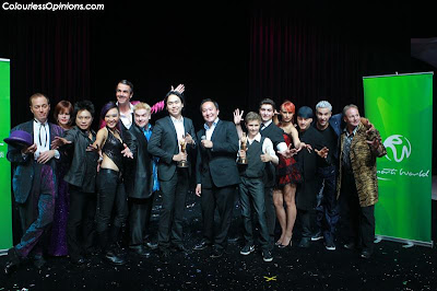 Magicians, director & producer of Superstars of Magic 2 Genting Malaysia.