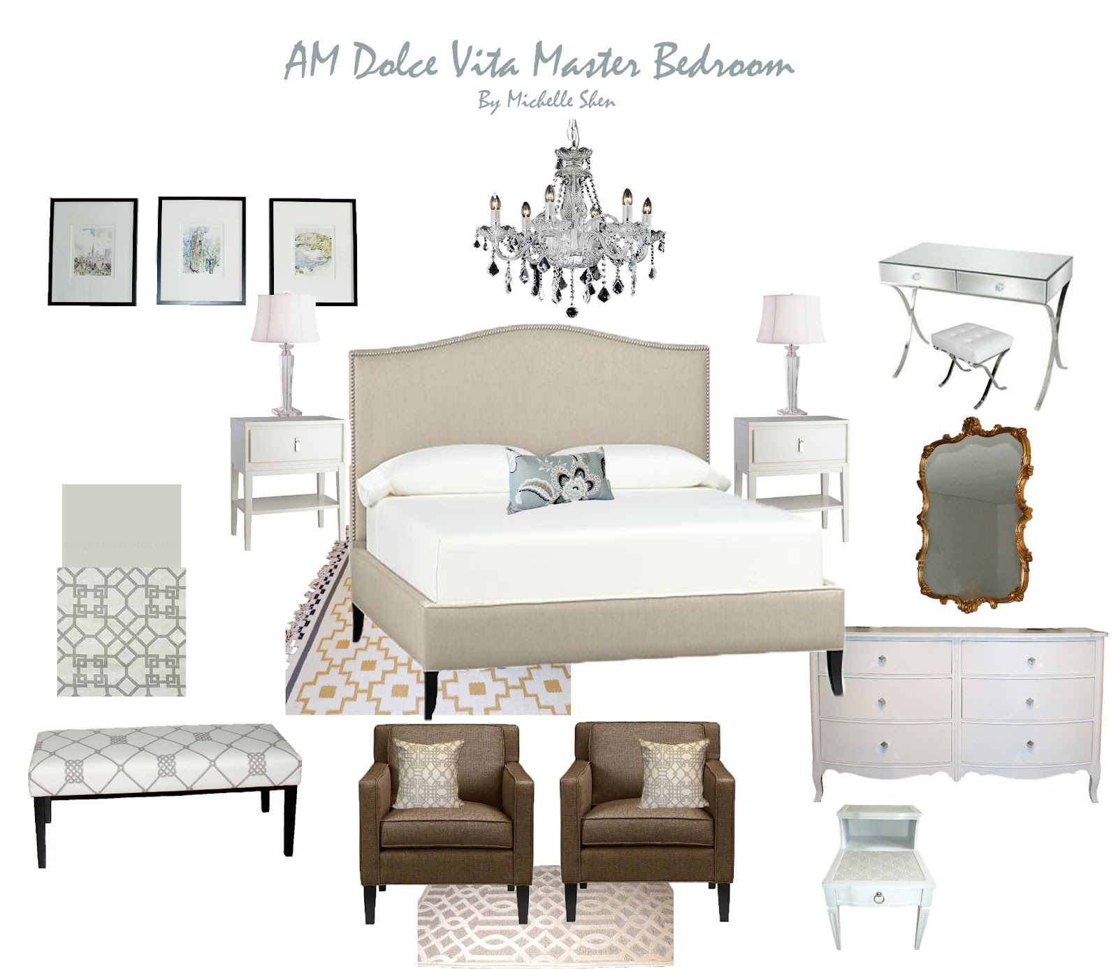 AM Dolce Vita: Design Boards