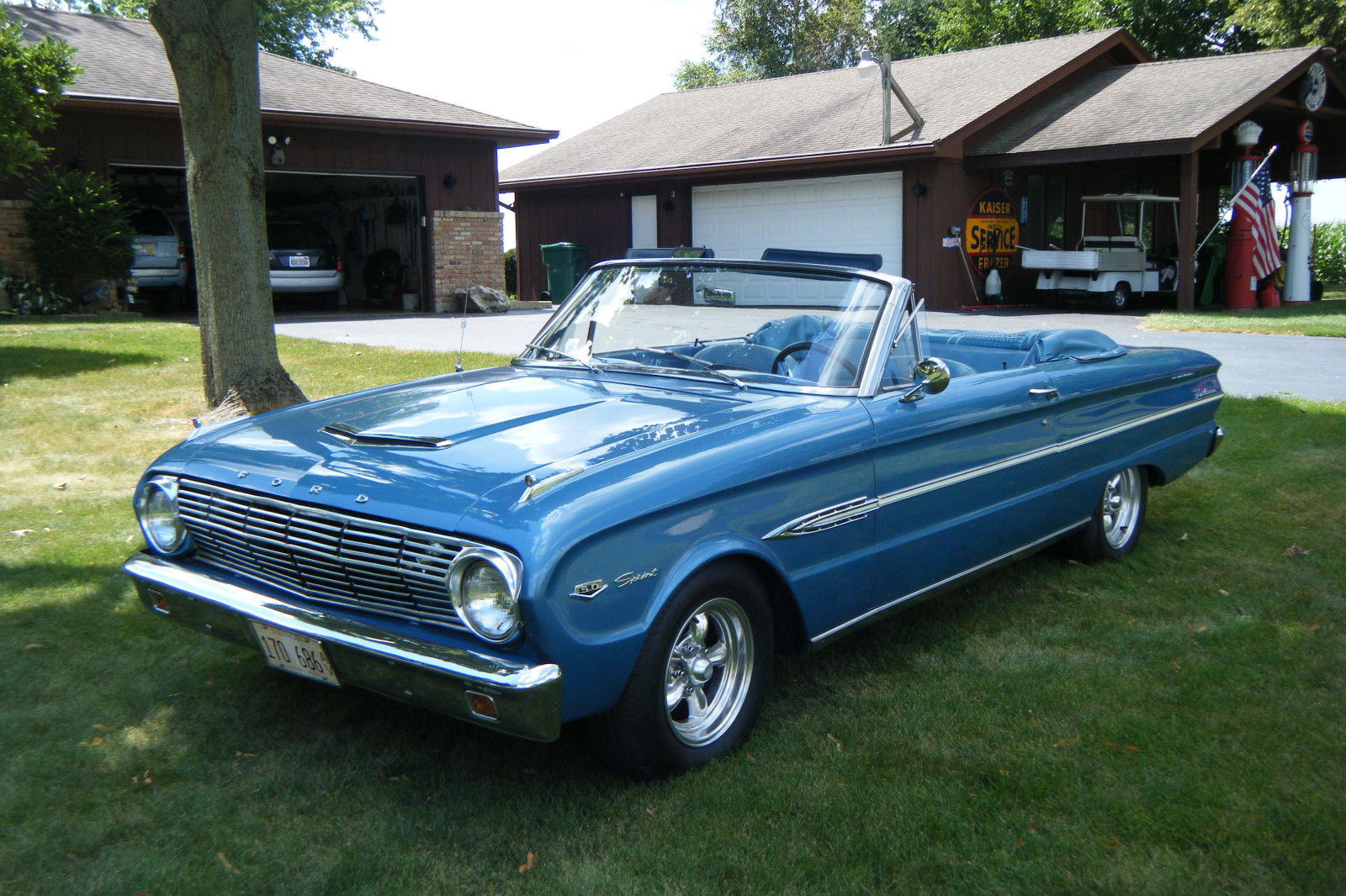 daily turismo topless cruiser 1963 ford falcon