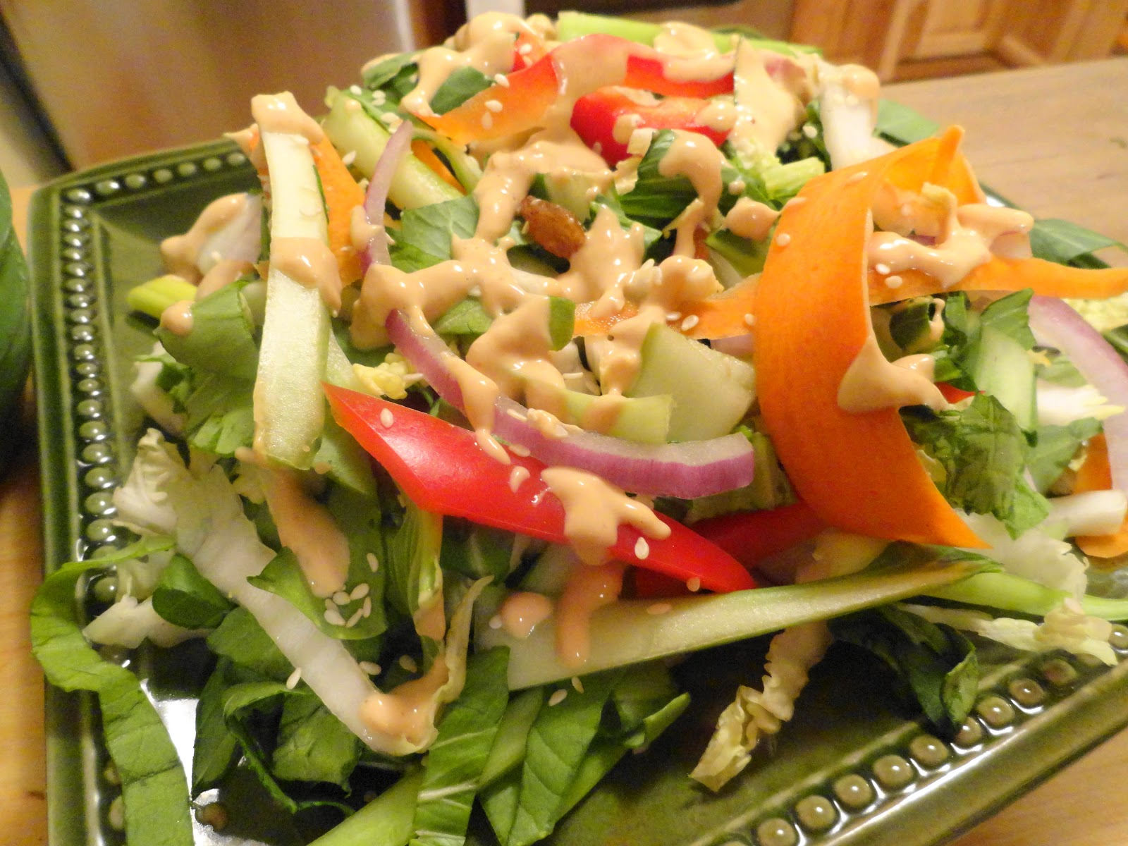 Bok Choy And Pineapple Salad With Peanut Dressing Recipes — Dishmaps