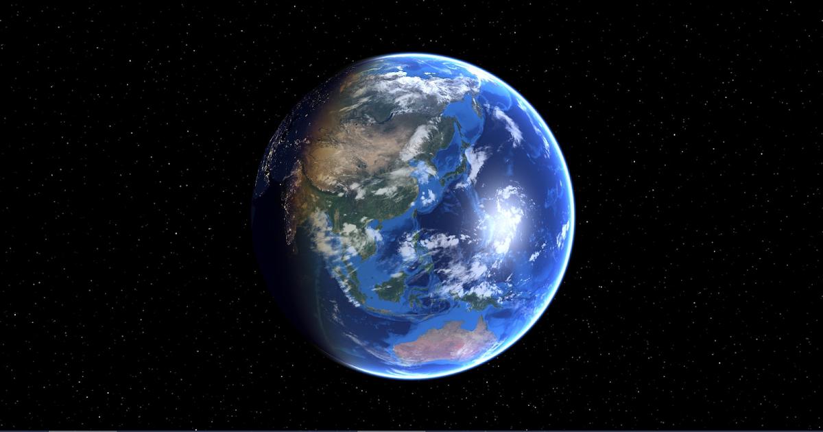 DesktopEarth 3 從工作桌面打開宇宙之窗眺望地球變化