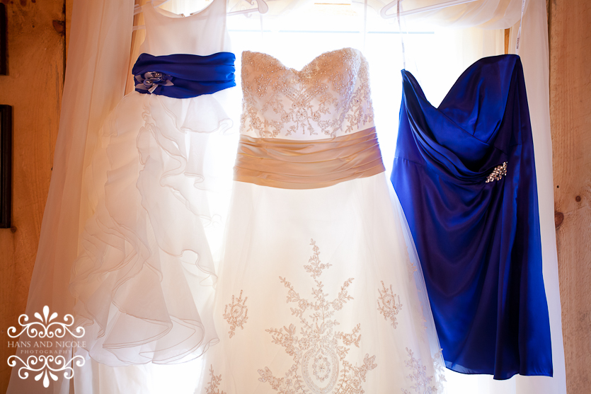 beautiful wedding details at Shade Trees and Evergreens