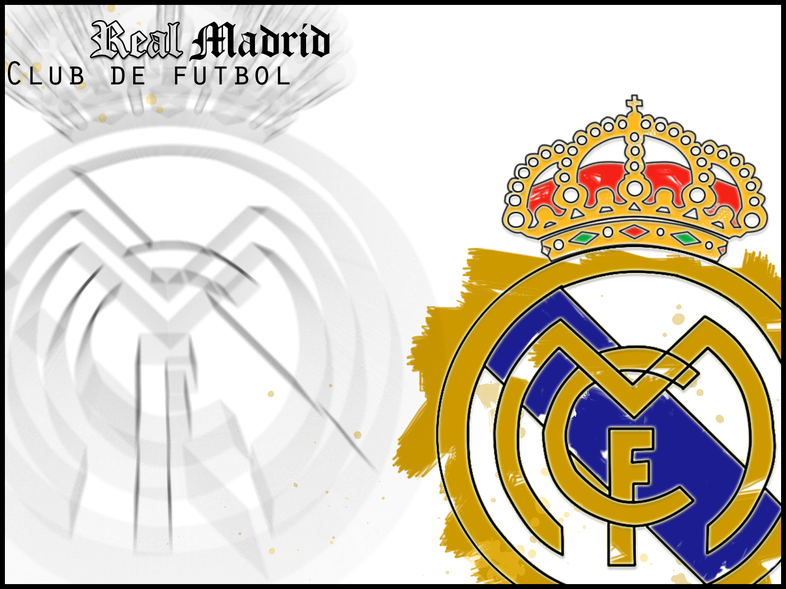 Wallpapers Hd For Mac Real Madrid Football Club Logo Wallpaper Hd