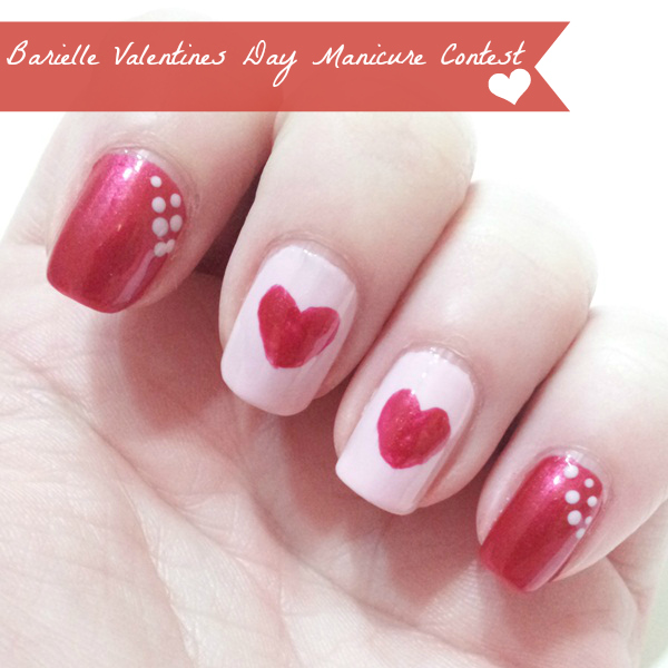 Valentine's Day Nail Art: Barielle Manicure Contest