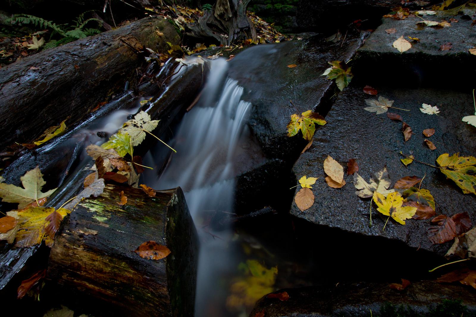 Fotografia krajobrazowa. Wodospady na Stożku. fot. Łukasz Cyrus