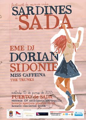 Festival Sardinas de Sada Música Indie 2013