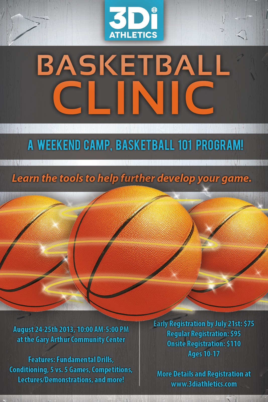Ilia community postings july 2013 for Basketball camp brochure template