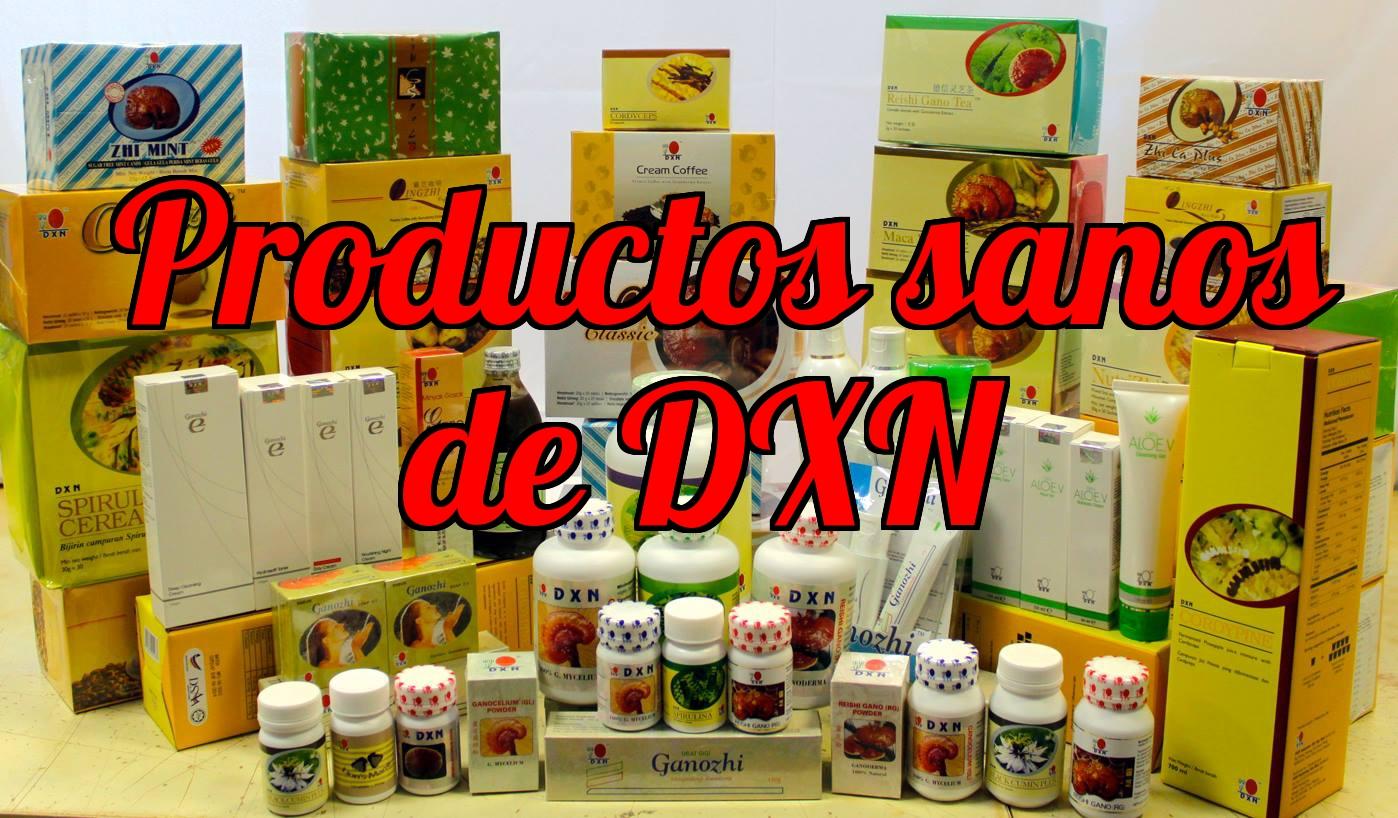 Productos de DXN con ganoderma