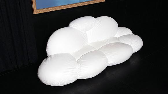 оригинални мебели - диван облак