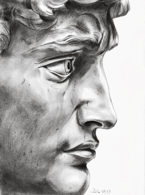 Michel-Ange (portrait de David) 2013