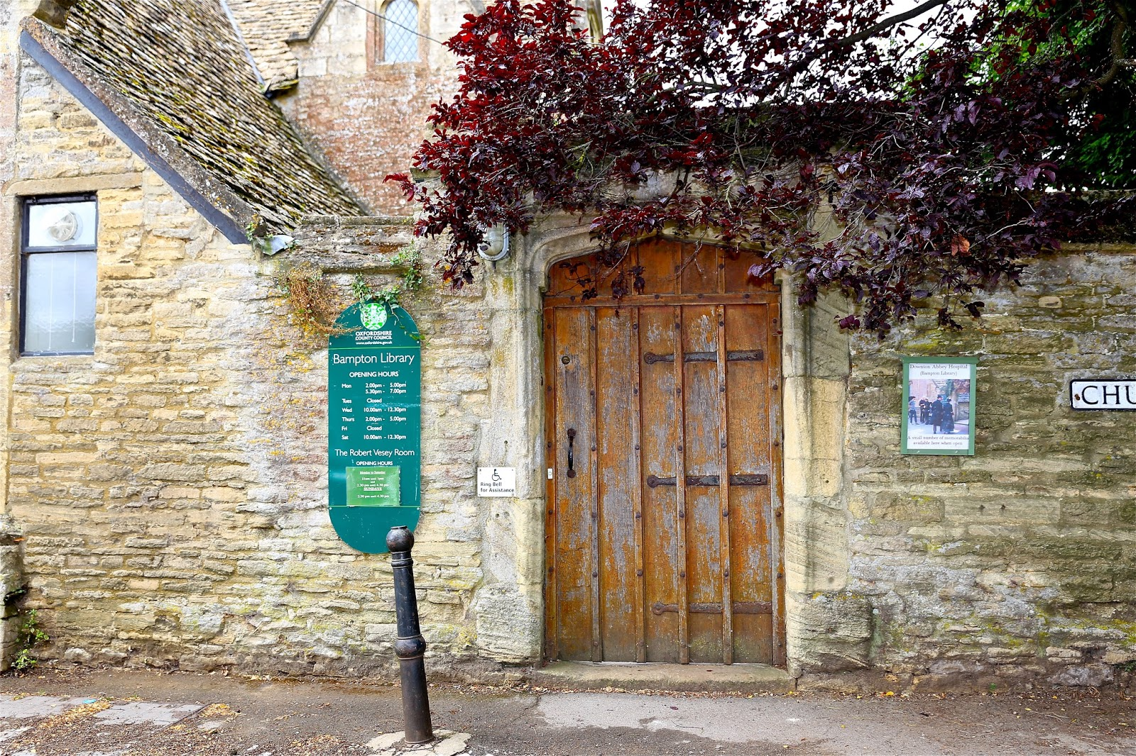 sweet southern days visiting downton abbey village bampton england