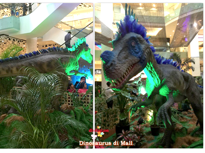 Dinosaurus adventure gandaria city