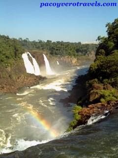 Las Cataratas de Iguazu desde el lado Brasilero