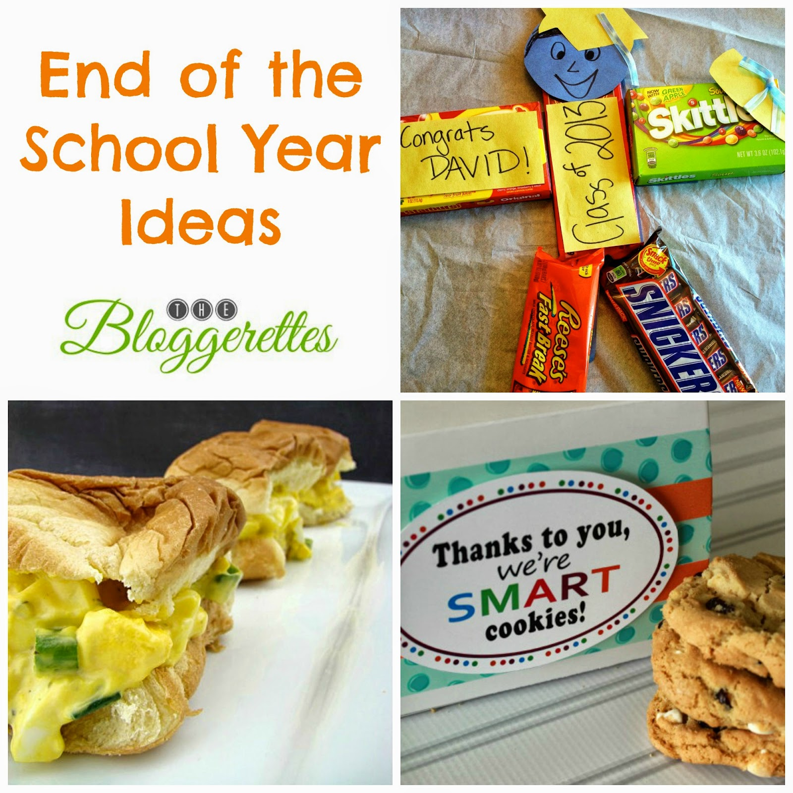 grad+collage+2 Smart Cookies   Teacher Gift Ideas with Free Printable