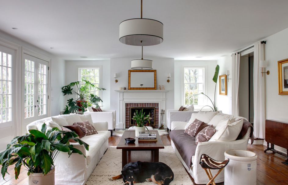famous designer candice olsen will mix and match light fixtures for a more interesting eclectic look that way you can avoid the lighting showroom look