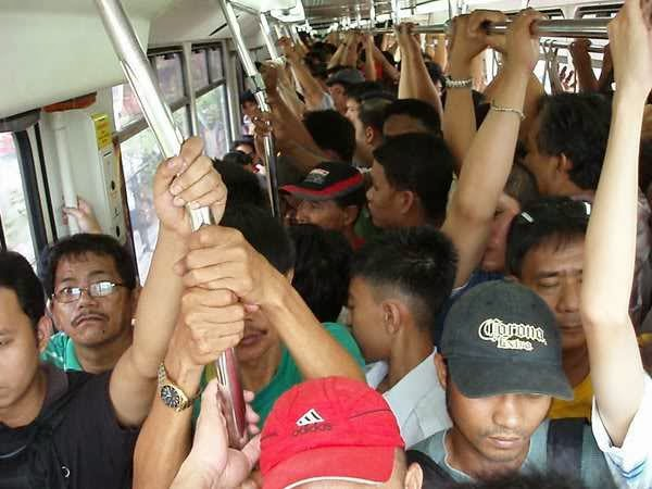 conditions inside MRT-3 peak hour
