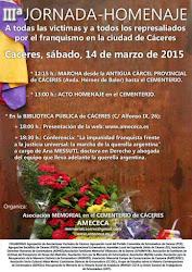 IIIª Jornada-Homenaje