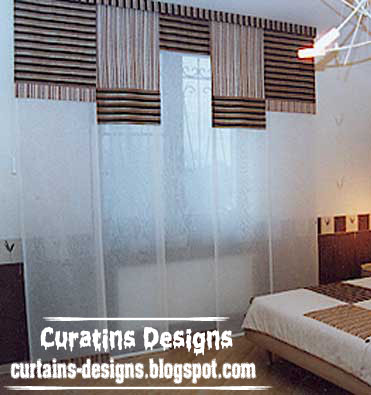 Modern Japanese Bedroom Curtain Design 2013   Simple Curtain