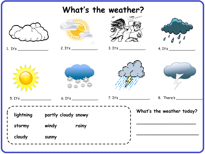 Worksheet On Weather free worksheet on weather symbols and – Weather Worksheets for 2nd Grade
