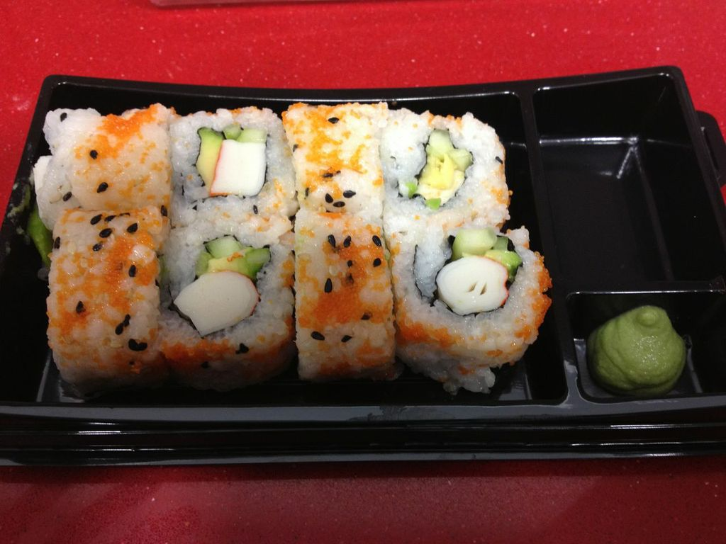 Platos Barcelona: Sushi california en Soba Sushi to Walk